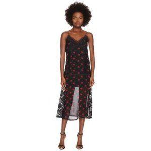 MCQ Alexander McQueen Decon Slip Amp Floral Dress